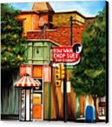 Bow Wah Chop Suey Canvas Print by David Kyte