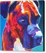 Boxer - Jax Canvas Print by Alicia VanNoy Call