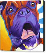 Boxer - Chance Canvas Print by Alicia VanNoy Call