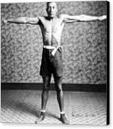 Boxing. Boxer Tut Jackson, Ca. 1922 Canvas Print by Everett