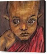 Boy In Burma Canvas Print