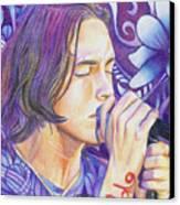 Brandon Boyd Canvas Print by Joshua Morton