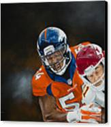 Brandon Marshall Canvas Print