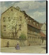 Braune Weimar Canvas Print by Christoph Martin Weiland