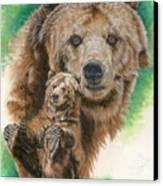 Brawny Canvas Print