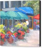 Breakfast At Blus Canvas Print