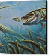 Breakline Hunter Musky Canvas Print by JQ Licensing