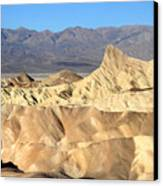 Breath Taking Landscape Of Zabriskie Point Canvas Print