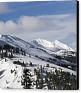 Breckenridge Resort Colorado Canvas Print by Brendan Reals