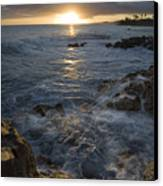 Brenneke Sunset Canvas Print