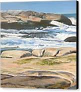 Bretagne 2 Canvas Print by Muriel Dolemieux