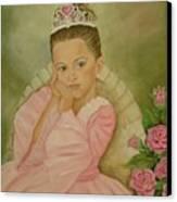 Brianna - The Princess Canvas Print