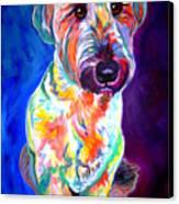 Briard - Albert Canvas Print by Alicia VanNoy Call