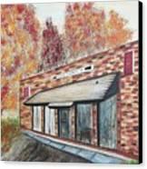 Brick Building Canvas Print