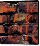 Bricks And Graffiti Canvas Print by Tim Good