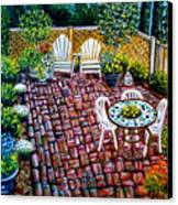 Brickwork Canvas Print