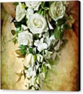 Bridal Bouquet Canvas Print by Meirion Matthias