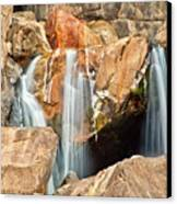 Bridalveil Fall In Yosemite Np Canvas Print by Sankar Raman