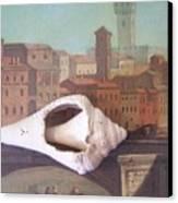 Bridge Over Florence Canvas Print