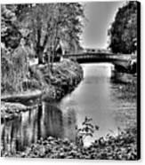 Bridge Over River Canvas Print by Roberto Alamino