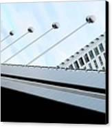 Bridge Over The Danube Canvas Print