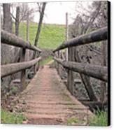Bridge To E Canvas Print
