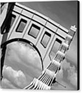 Bridge Top Pittsburgh Pa Canvas Print by Kristen Vota