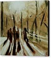 Bridgewalkers Canvas Print