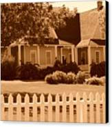 Brigham Young Home Canvas Print