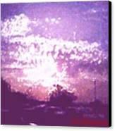 Bright Evening Canvas Print