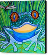Bright Eyes 2 Canvas Print