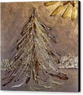 Bright Star For Light Canvas Print by Marsha Heiken