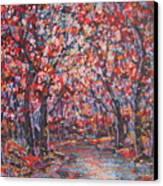 Brilliant Autumn. Canvas Print