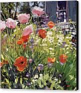 Brilliant Garden Canvas Print