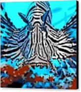 Brilliant Stripes Canvas Print