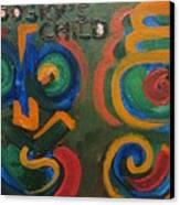 Brodsky's Child Canvas Print