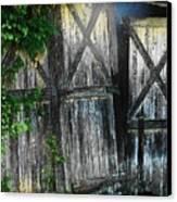 Broken Barn Door Canvas Print by Joyce Kimble Smith