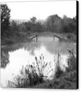 Broken Bridges Canvas Print