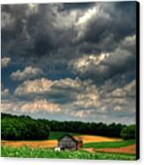 Brooding Sky Canvas Print by Lois Bryan