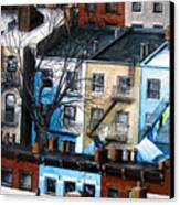 Brooklyn Rooftops Canvas Print