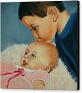 Brother And Sister Canvas Print