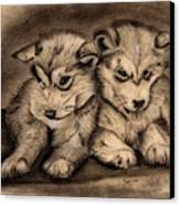 Brotherly Love Canvas Print by Russ  Smith