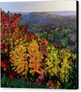 Brown County Autumn Canvas Print