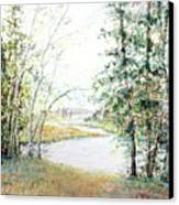 Brule River Canvas Print by Ken Marsden