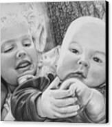 Brynn And Austin Canvas Print