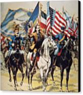 Buffalo Bill: Poster, 1893 Canvas Print by Granger