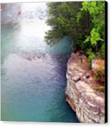 Buffalo River Mist Canvas Print