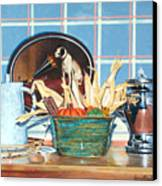 Buffet Still Life Canvas Print