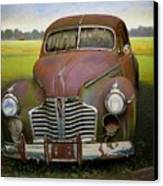 Buick Eight Canvas Print by Doug Strickland