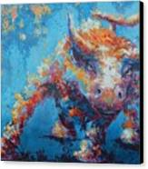 Bull Market X Canvas Print